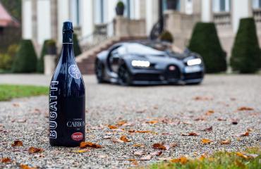 Σαμπάνια σε carbon μπουκάλι έφτιαξε η Bugatti
