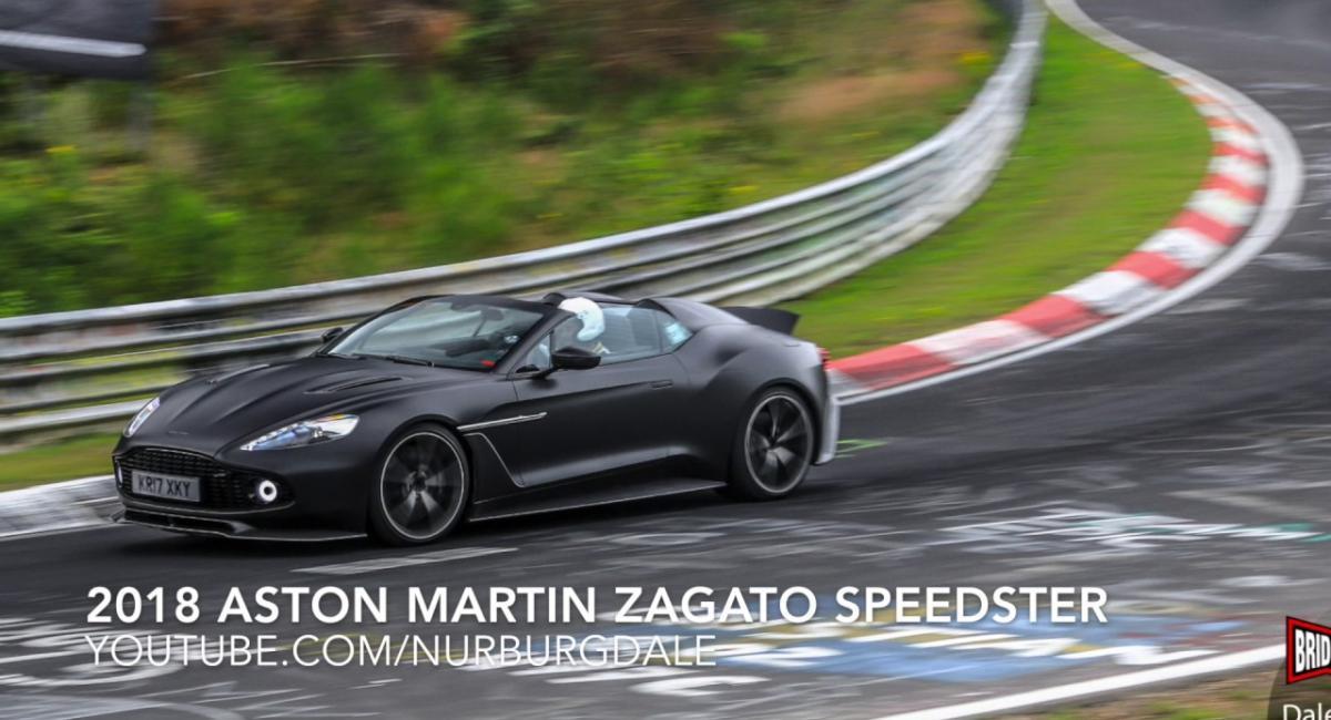 Η Aston Martin Vanquish Zagato Speedster δοκιμάζεται στο Nurburgring [Vid]