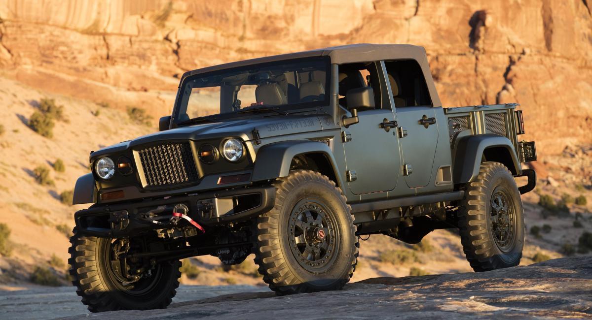 Με μαλακή οροφή το Jeep Wrangler pickup
