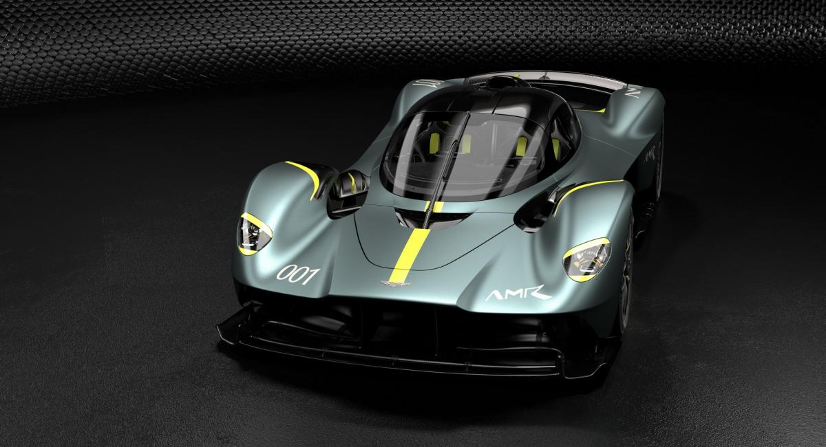 Aston Martin Valkyrie με AMR Track Performance Pack