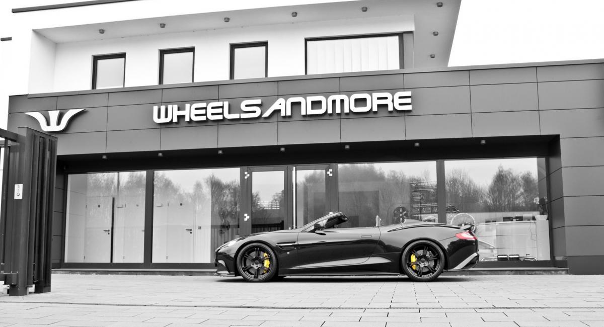 Aston Martin Vanquish S Volante με 600 άλογα από την Wheelsandmore