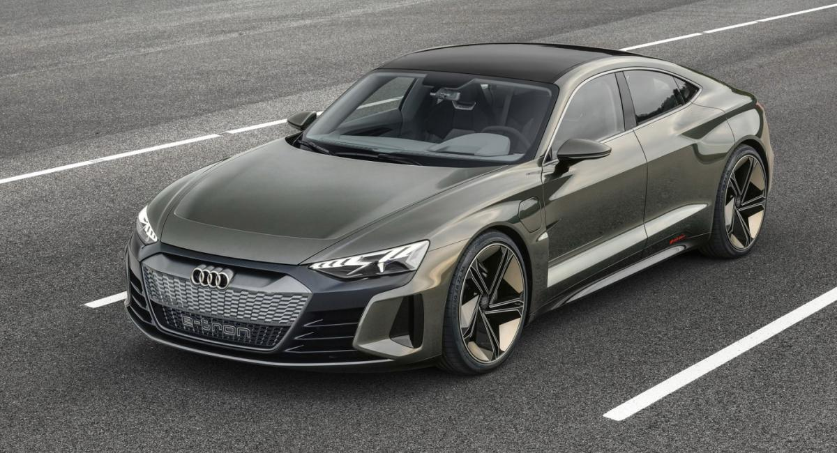 Audi E-Tron GT Concept με 590 άλογα