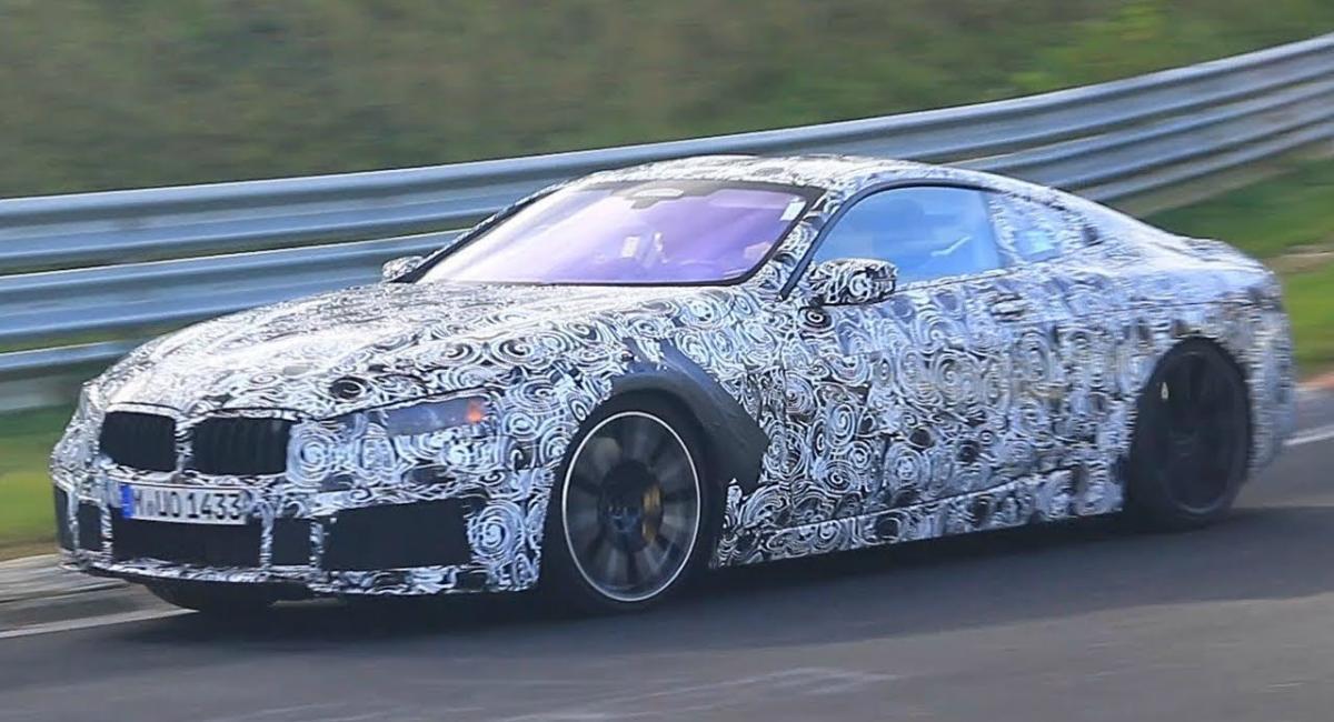 BMW M8 και Porsche 911 δοκιμάζονται στο Nürburgring [Vid]