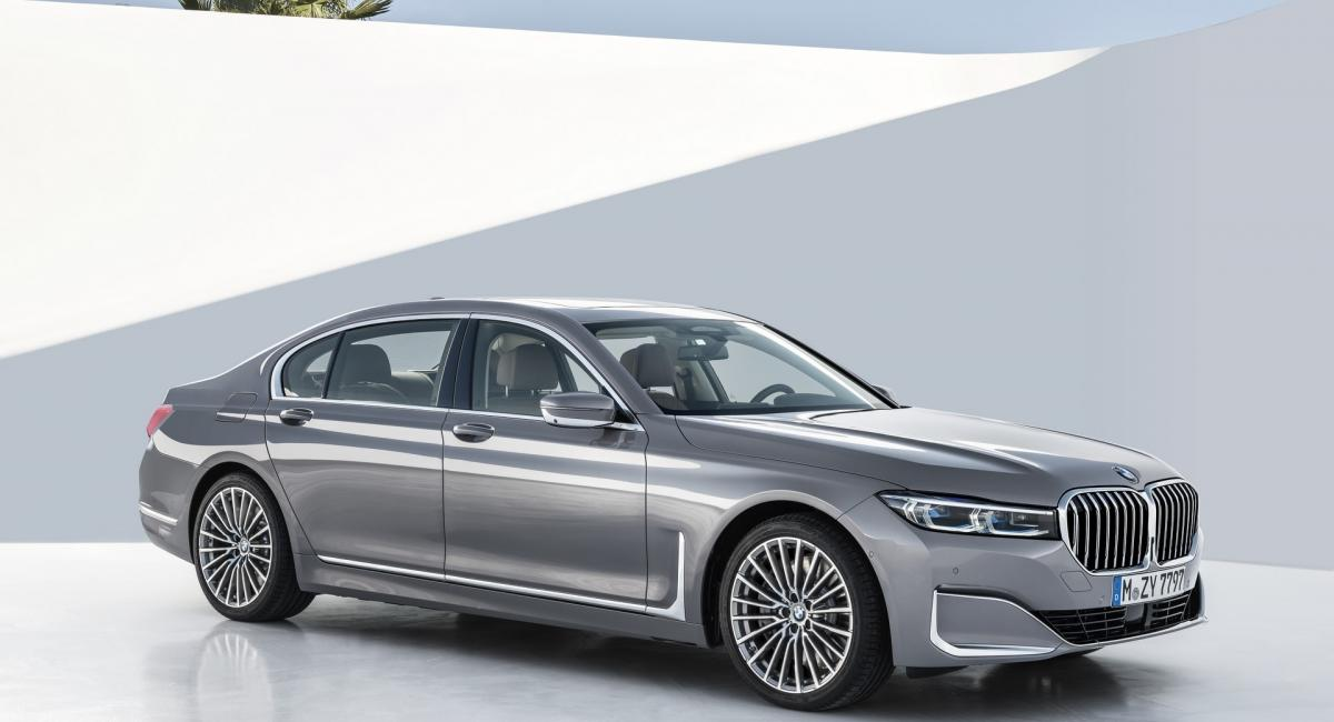 BMW 7-Series facelift - 2019