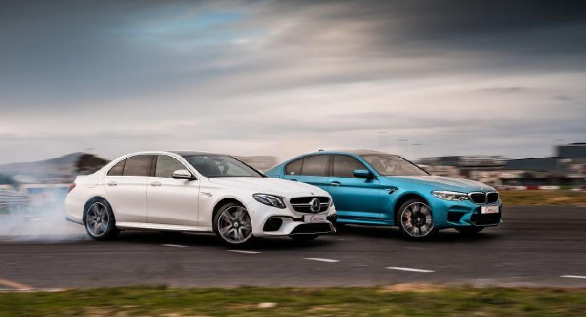 BMW M5 vs Mercedes-AMG E 63 S [Vid]