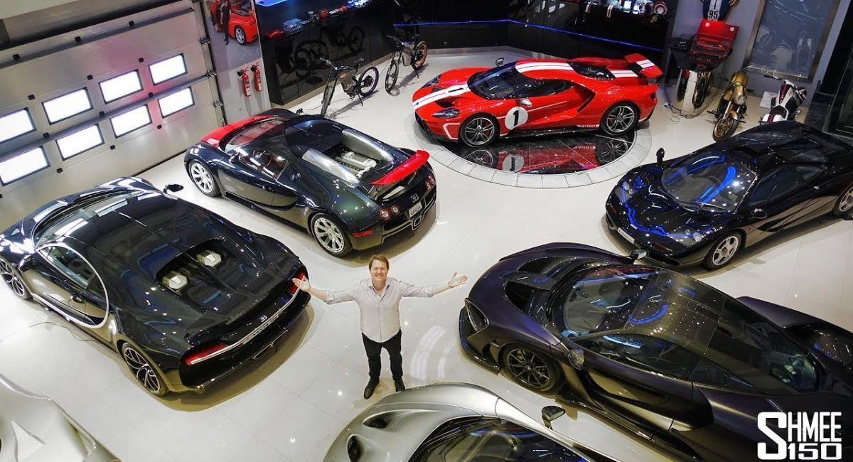 Απίστευτη συλλογή από supercars και σπάνια μοντέλα [Vid]