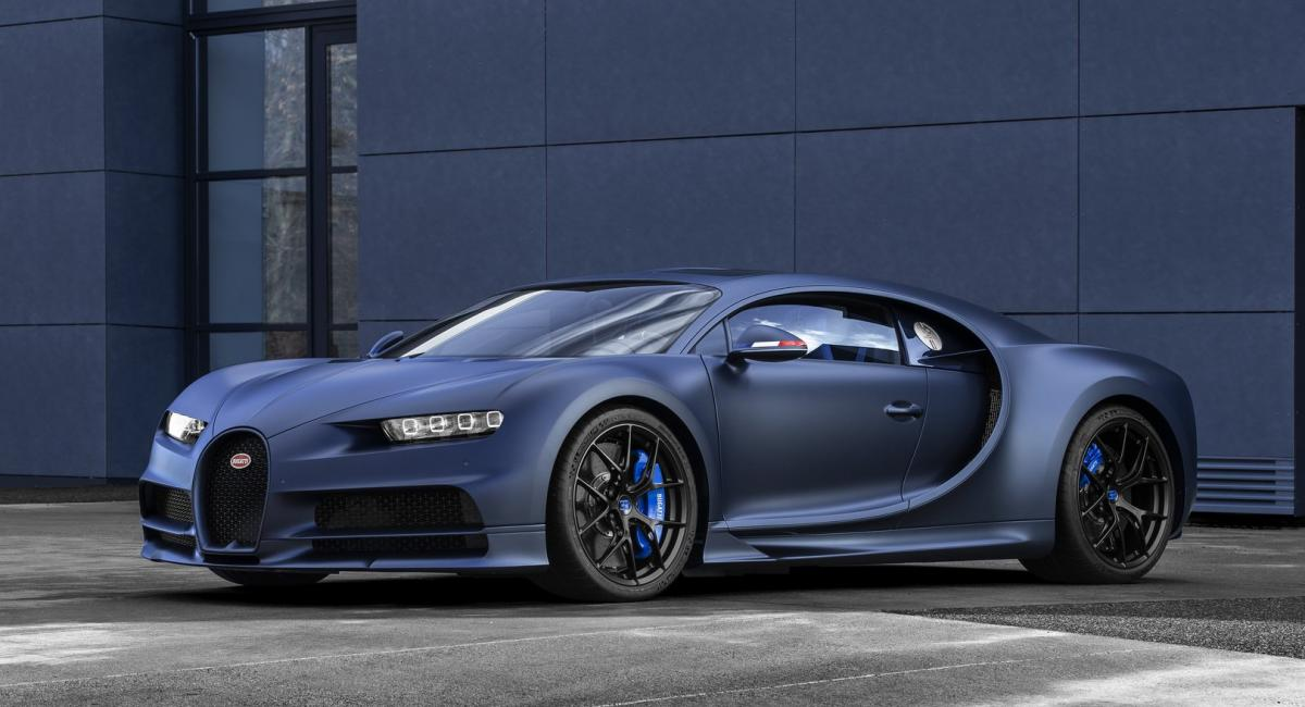 Ειδική έκδοση Chiron Sport για τα 110 χρόνια Bugatti