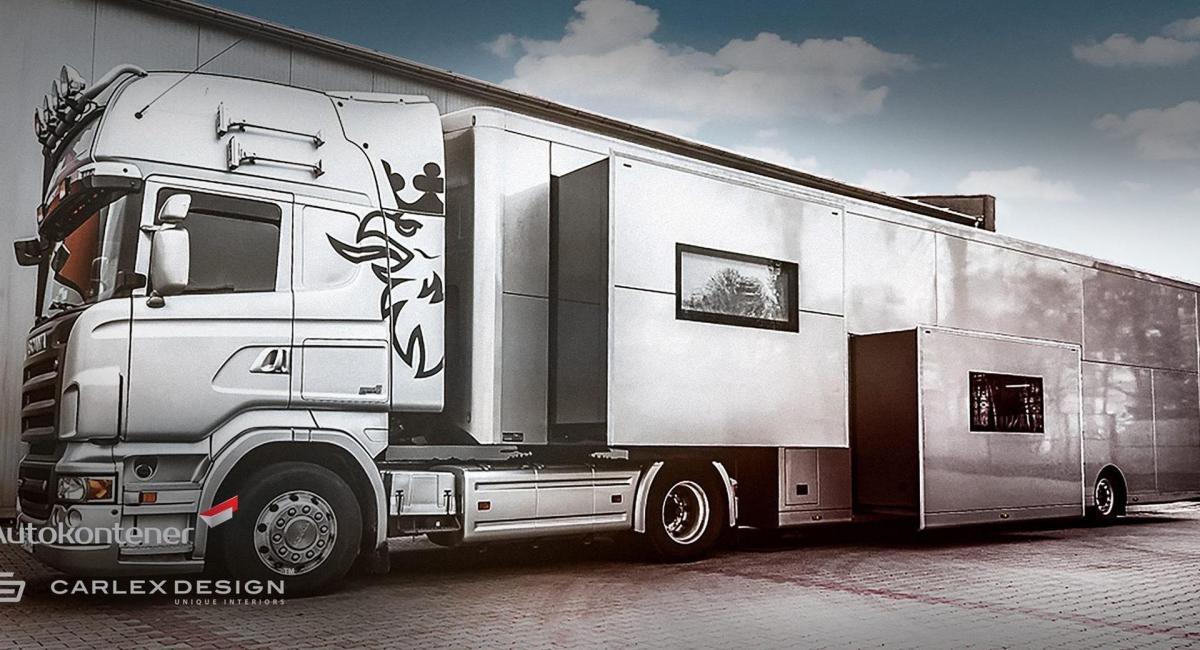 """Η Carlex Design κάνει τα """"μαγικά"""" της και σε τρέιλερ φορτηγού"""
