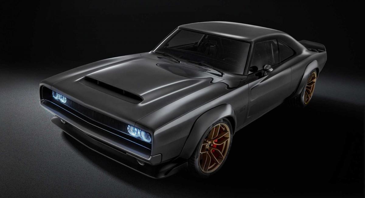 Dodge Super Charger concept με Hellephant Crate κινητήρα 1.000 ίππων