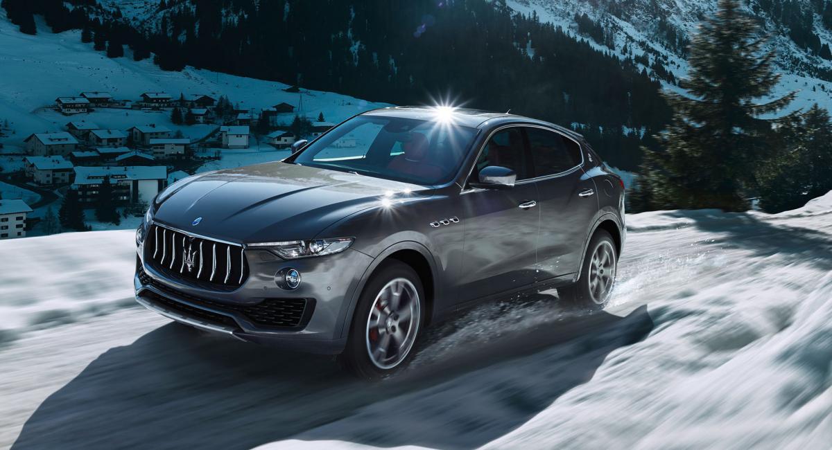 H Maserati επιλέγει Goodyear Eagle F1 για τη Levante