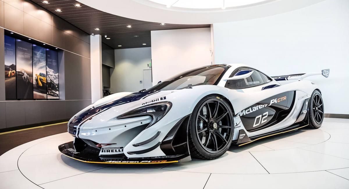 Πωλείται η #2 McLaren P1 GTR