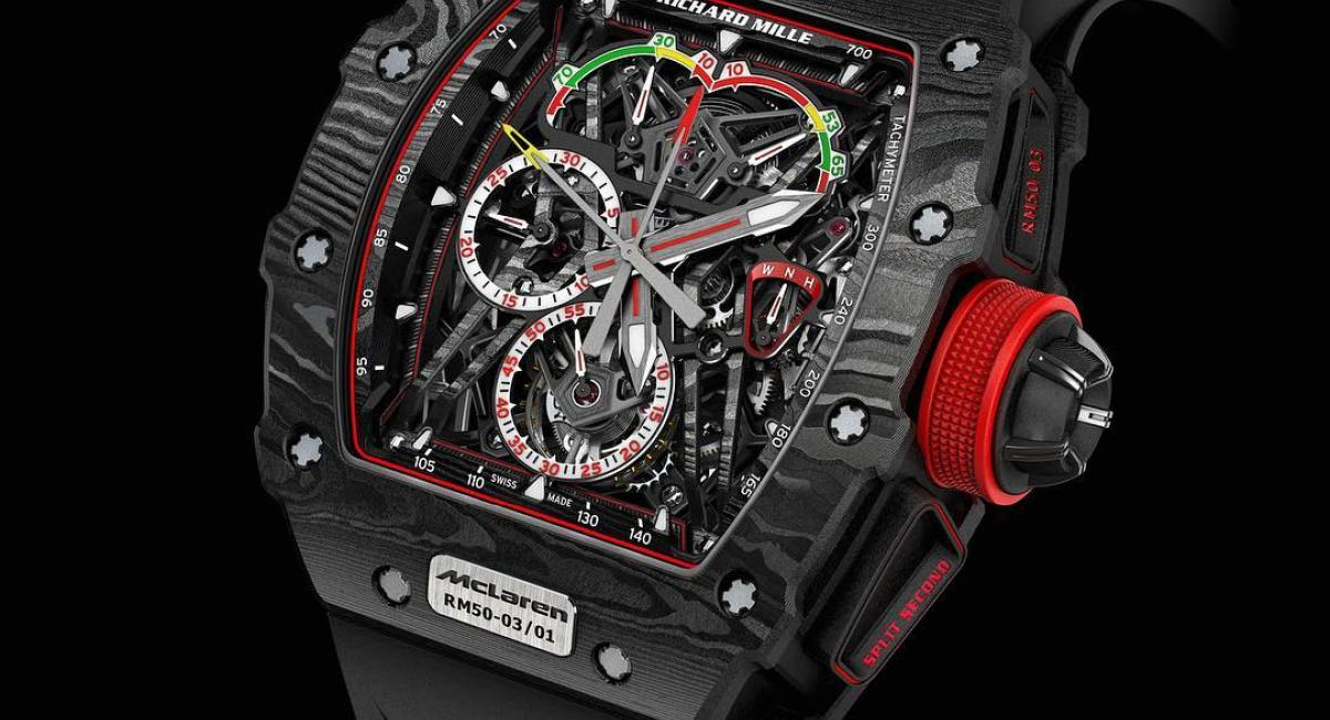 Richard Mille RM 50-03 McLaren F1, ρολόι αξίας 1+ εκατομμυρίου