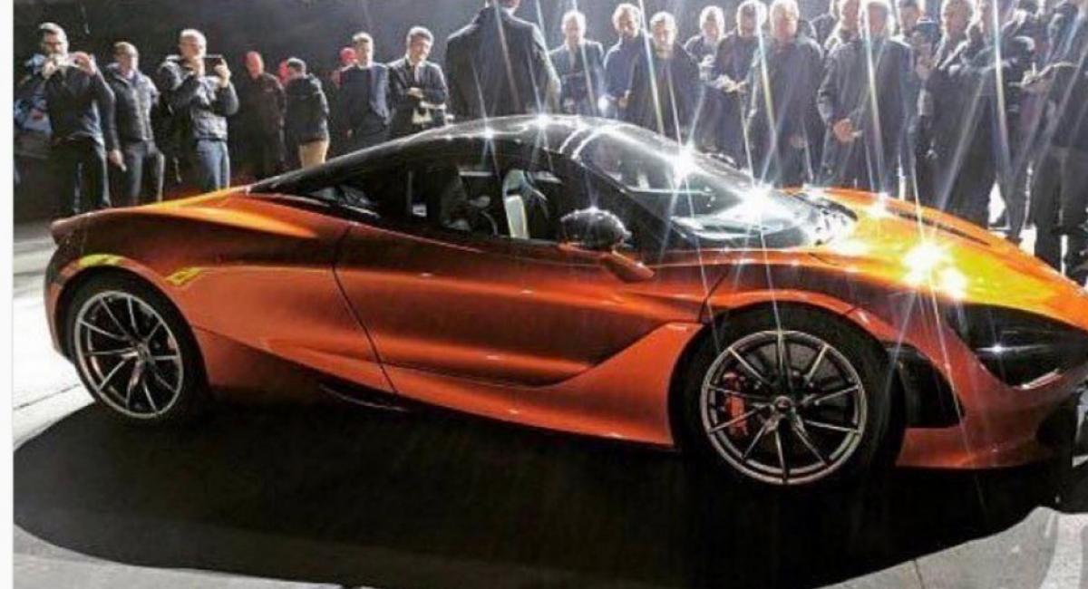 Αποκαλυπτήρια για τη McLaren 720S