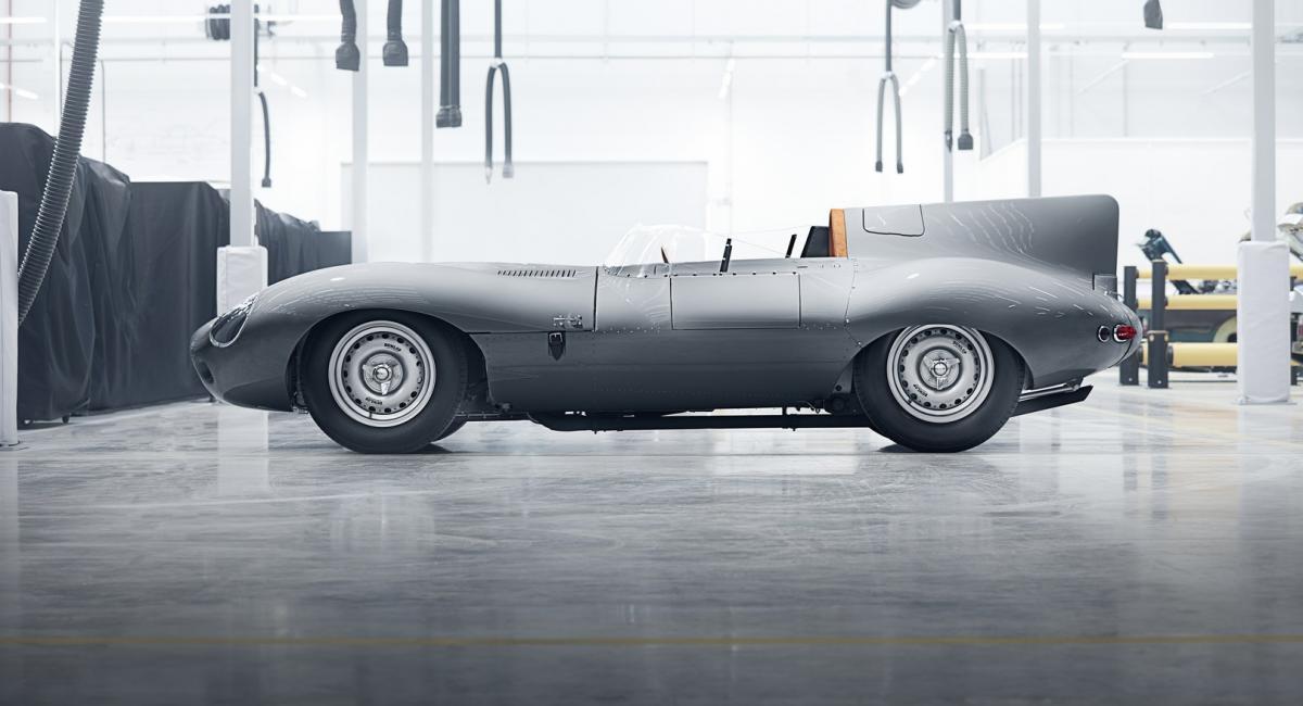 62 χρόνια μετά συνεχίζεται η παραγωγή της Jaguar D-Type