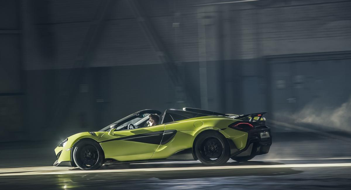 Επίσημο: McLaren 600LT Spider [Vid]