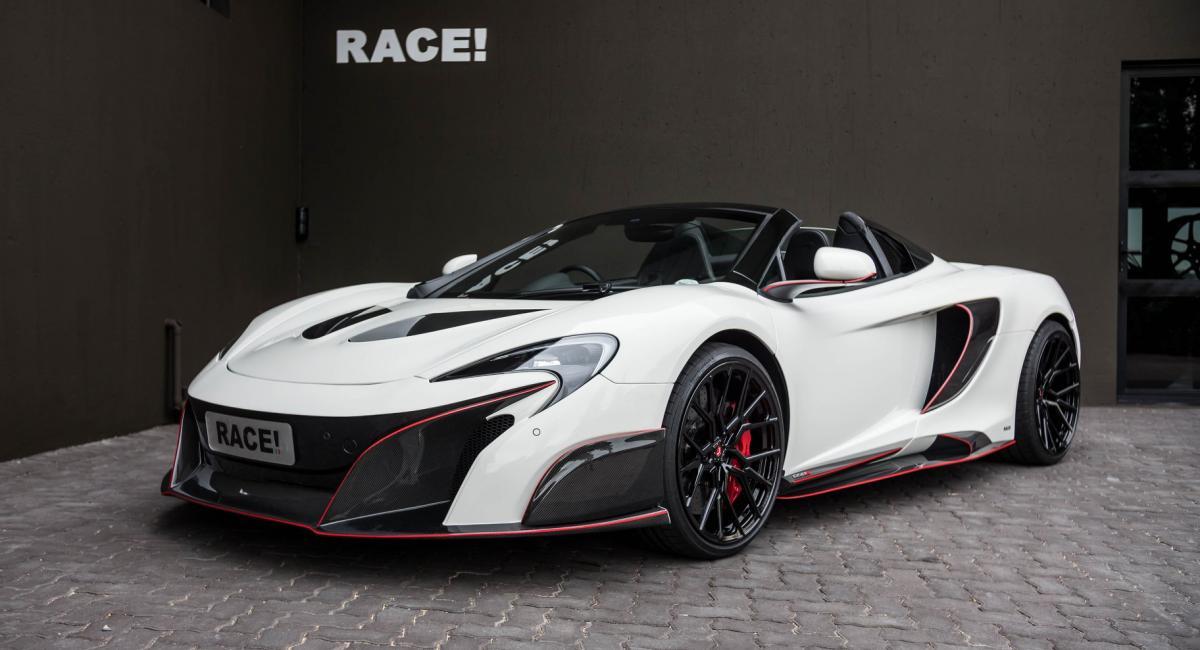 Βελτιωμένη McLaren 650S Spider