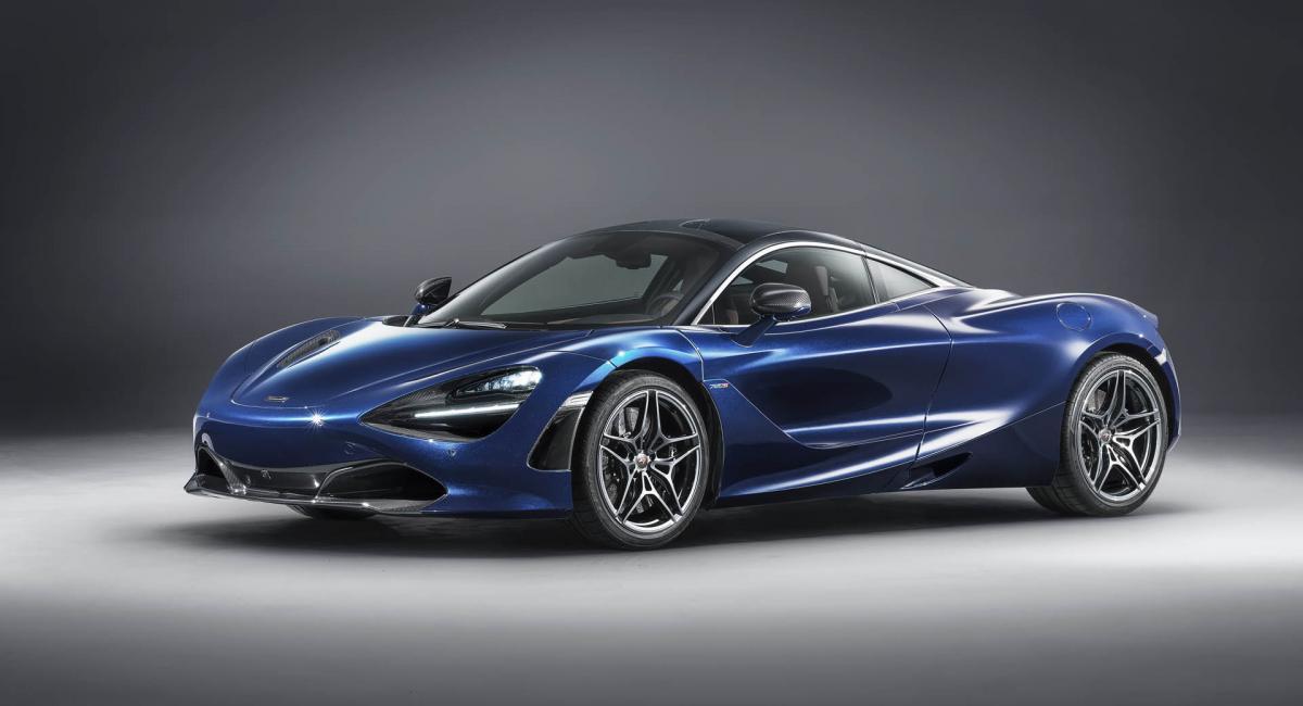 H McLaren 720S της MSO στη Εκθεση Γενεύη