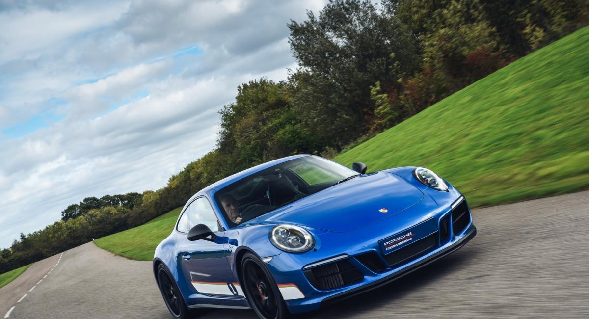 Porsche 911 Carrera 4 GTS «British Legends Edition»