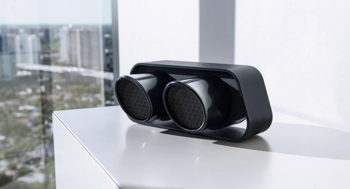 Bluetooth ηχείο από την εξάτμιση της 911 GT3