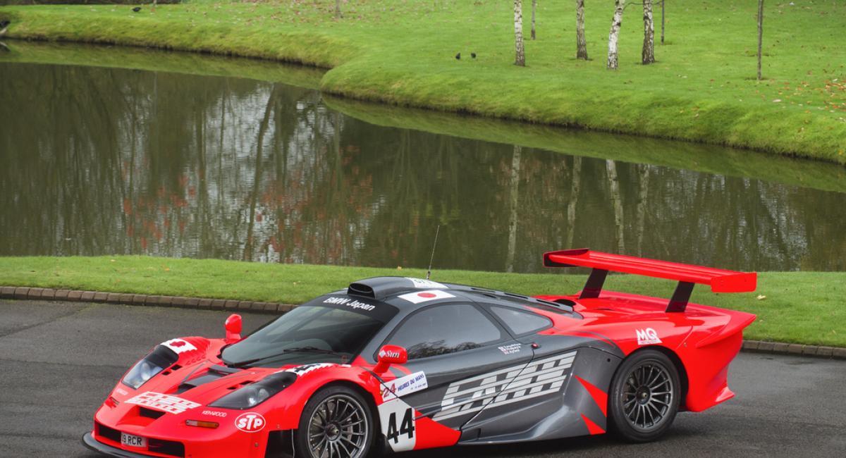 Με 15 εκατ Ευρώ αγοράζεις τη μοναδική McLaren F1 GTR Longtail steet-legal