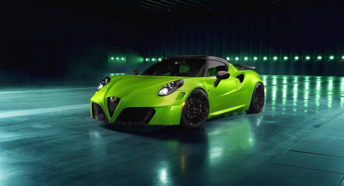 Alfa Romeo 4C από την Pogea Racing [Vid]