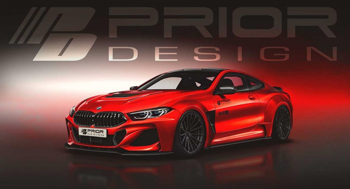 H Prior Design ετοιμάζει ένα Widebody Kit για την BMW Σειρά 8
