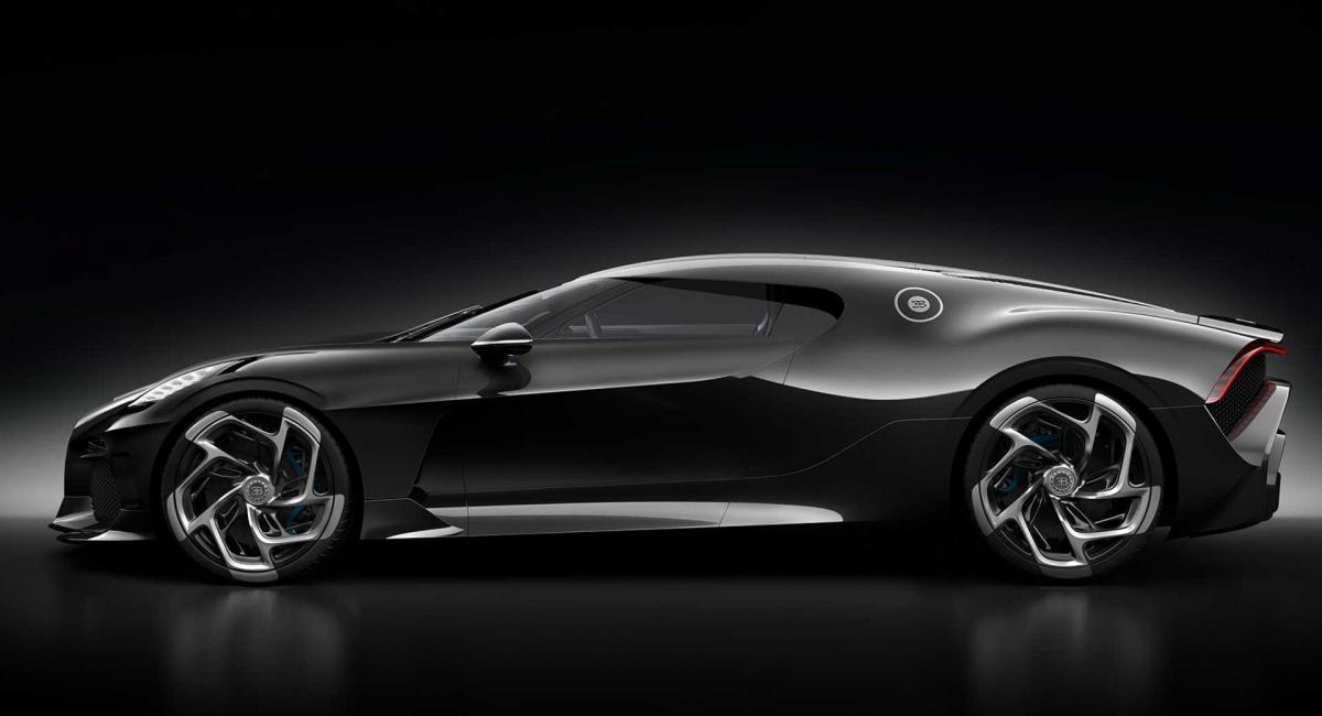 Bugatti La Voiture Noire. Το ακριβότερο αυτοκίνητο που φτιάχτηκε ποτέ