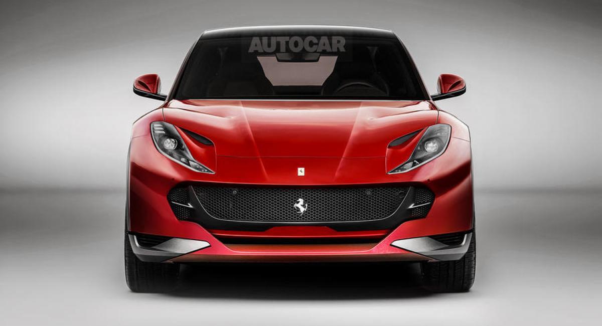 V8 υβριδικό κινητήρα ανακοίνωσε η Ferrari