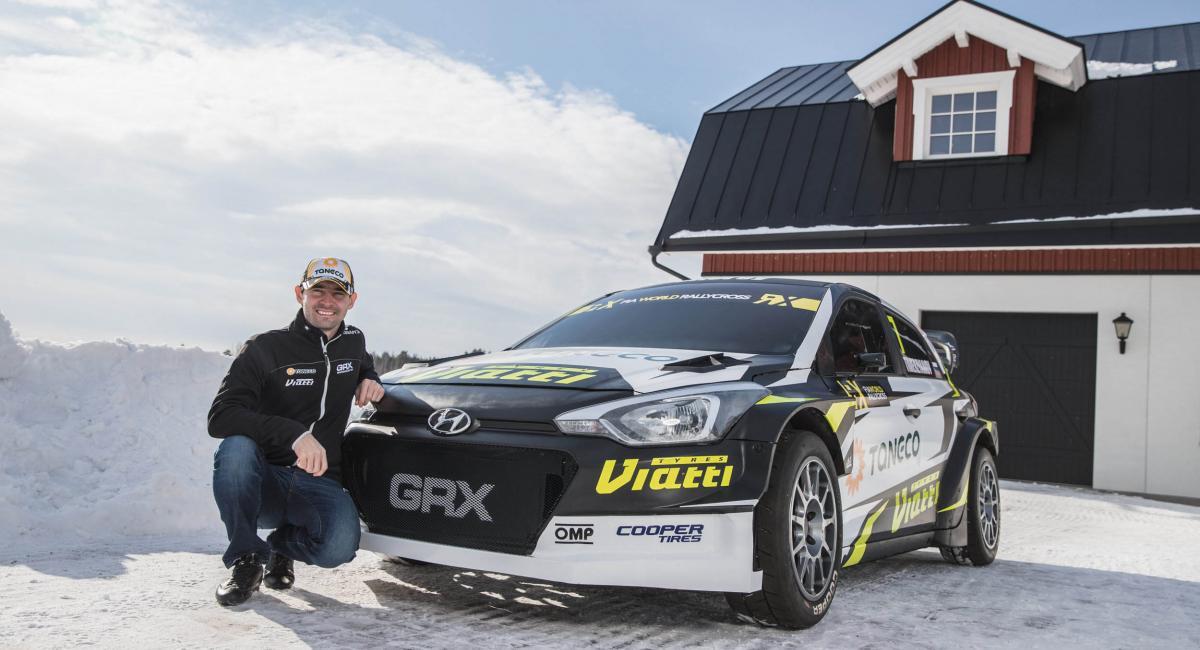 Το αγωνιστικό Hyundai i20 για το World Rallycross