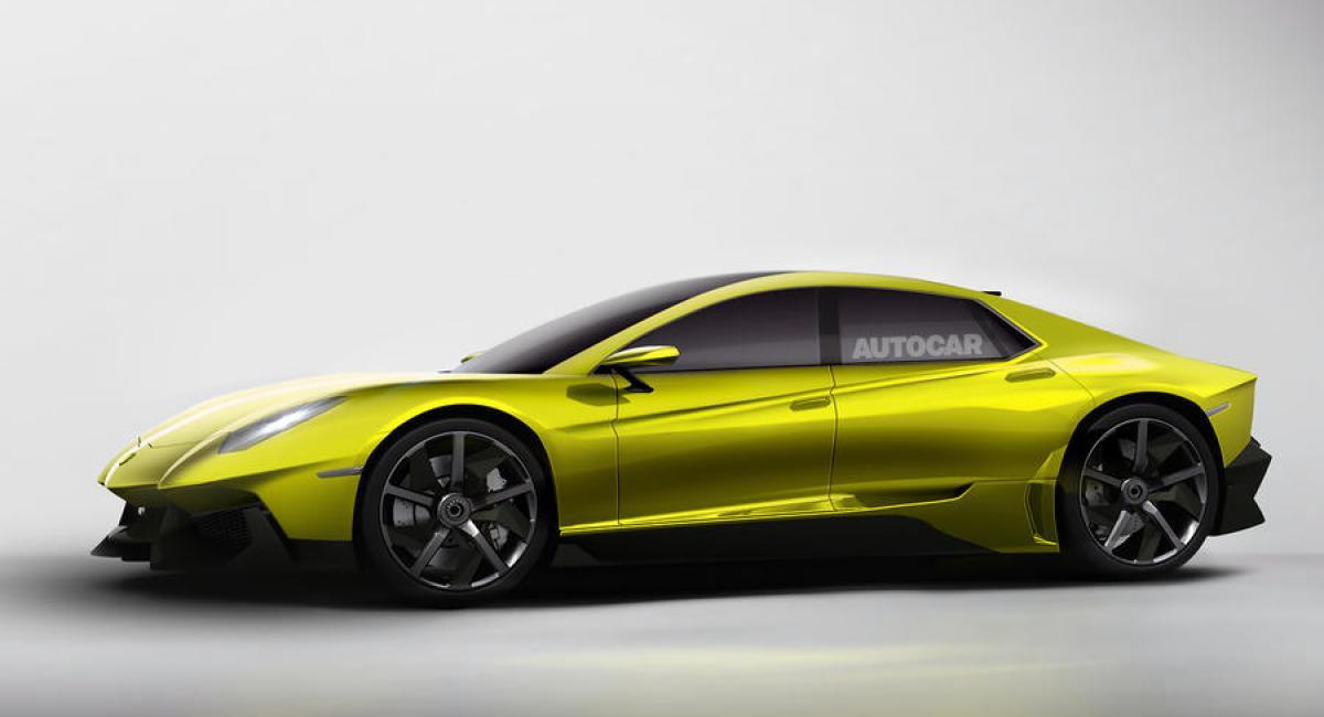Νέο τετράπορτο μοντέλο ετοιμάζει η Lamborghini