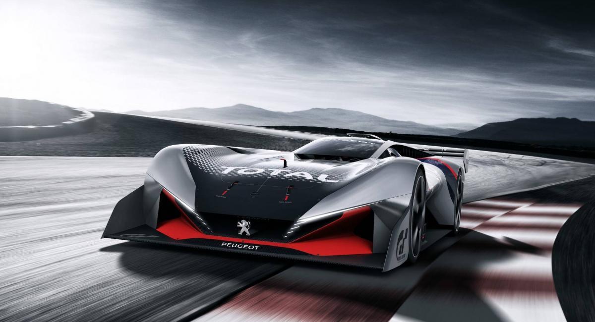 Peugeot L750 R Hybrid Vision GT