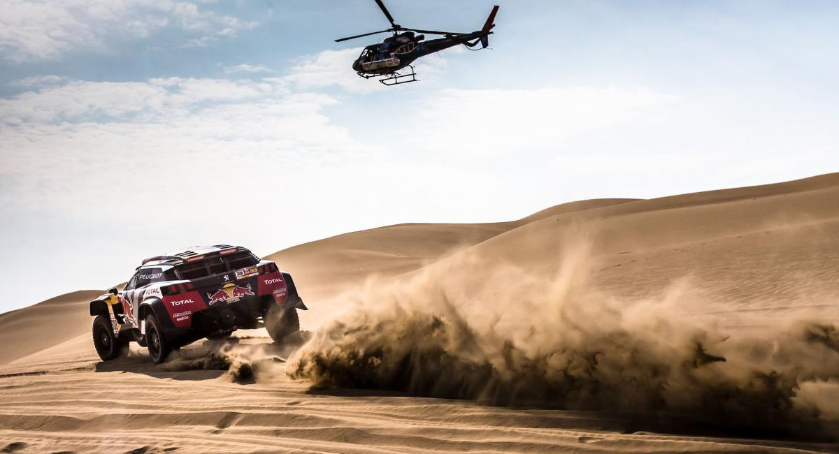 Rally Dakar 2018: 1η νίκη για τον Loeb [4η ημέρα] [Vid]