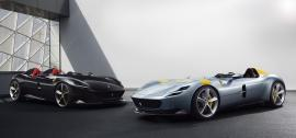 Ferrari Monza SP1 & SP2 με σχεδίαση από το παρελθόν