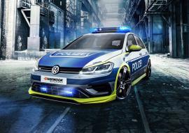 Βελτιωμένο Volkswagen Golf R έγινε περιπολικό [Vid]