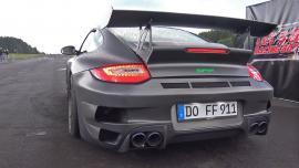 9ff Porsche 997 1400 ίππων vs Audi S2 Avant 800 ίππων! [Vid]
