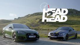 Audi RS 5 Vs Mercedes-AMG C 63 S Coupe [Vid]