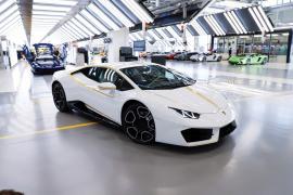 €715.000 για την Lamborghini Huracan του Πάπα