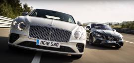 Bentley Continental GT VS Mercedes-AMG S63 Coupe στην πίστα [Vid]