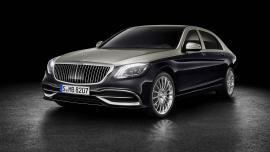 Mercedes-Maybach S-Class 2018 facelift στην Έκθεση Γενεύης