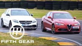 AMG C63 S vs Giulia Quadrifoglio, ποιο driftάρει καλύτερα; [Vid]