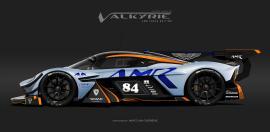 Η Aston Martin Valkyrie με αγωνιστικές περιβολές, σε Volante και AMR εκδόσεις