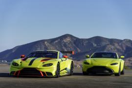 Έτοιμη και η αγωνιστική Aston Martin Vantage