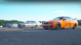 Τέσσερις γενιές BMW M3 σε κόντρα [Vid]