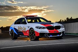 BMW M5 2018 MotoGP Safety Car