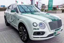 Bentley Bentayga στον στόλο της αστυνομίας του Ντουμπάι