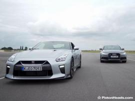 Audi RS 6 Vs Nissan GT-R, σε μια ενδιαφέρουσα μάχη.