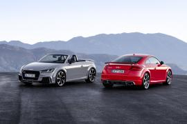 Audi TT RS Coupe και Roadster με 400 άλογα.