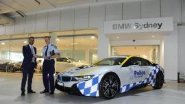 BMW i8: Στην υπηρεσία του νόμου