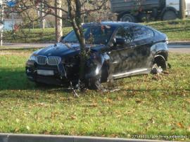 Όταν τα BMW X6 τρακάρουν στη Ρωσία
