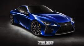 Η Lexus κατοχύρωσε την ονομασία LC F